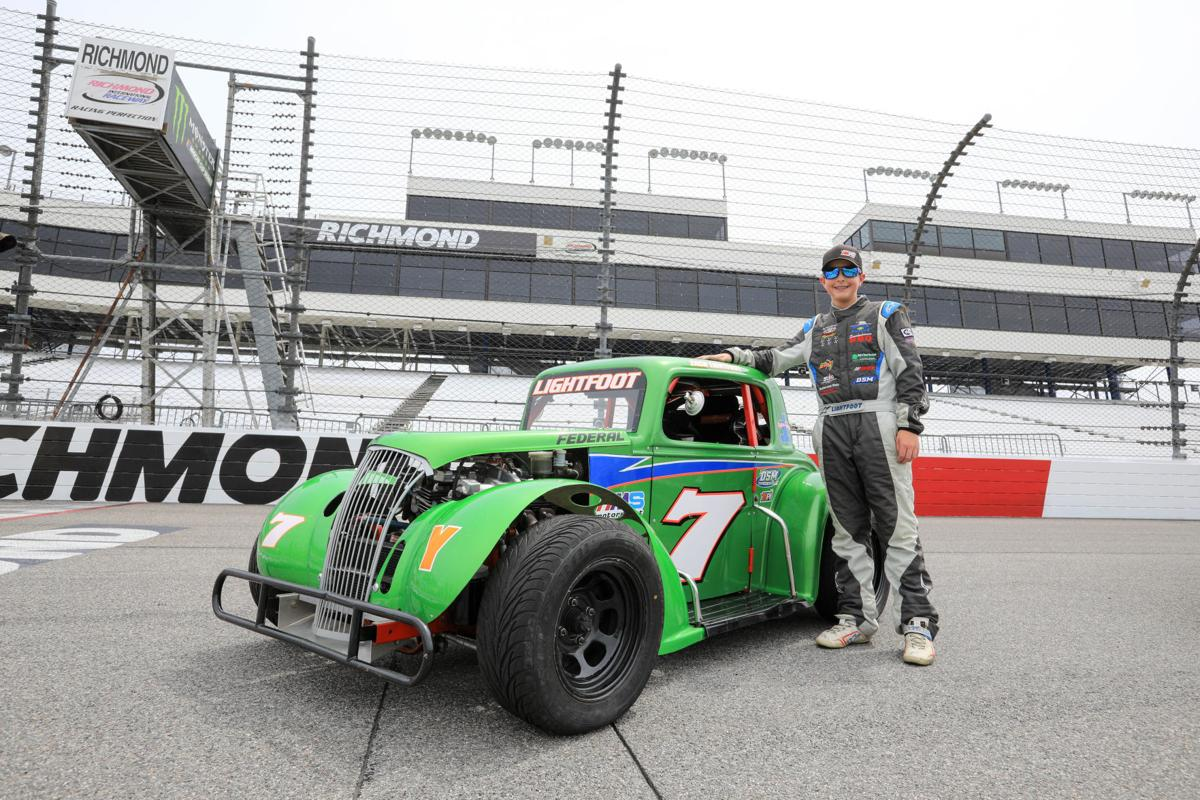 Lightfoot finds comfort zone in the fast lane | Auto Racing ...