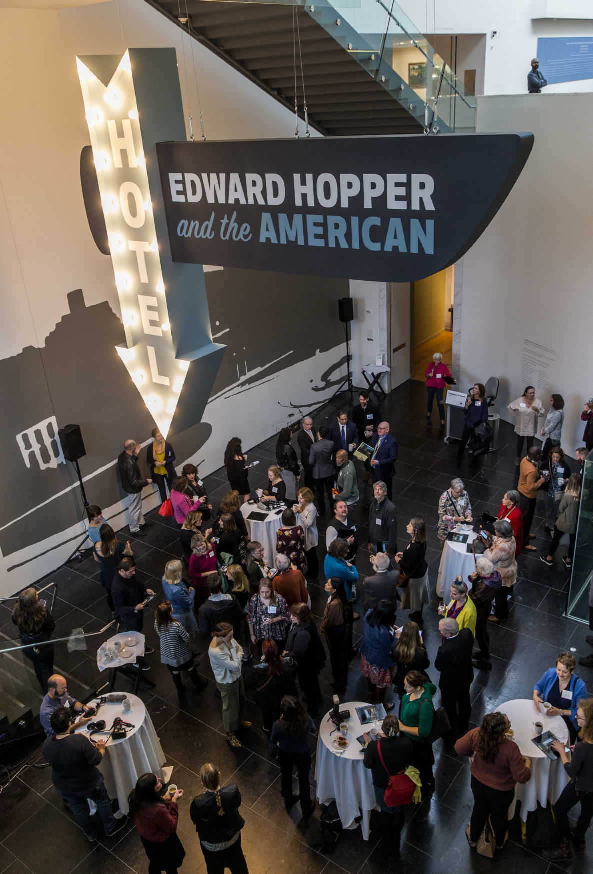 Edward Hopper and the American Hotel exhibit