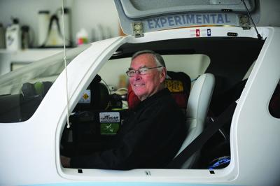 Stafford pilot aims for another around-the-world record