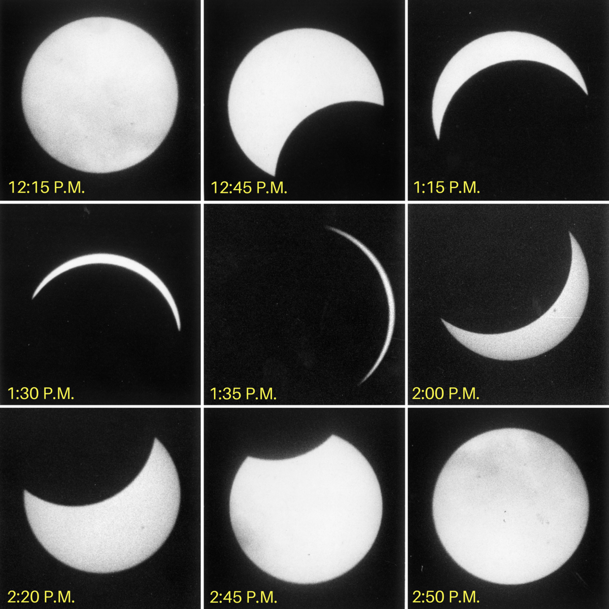 1970 eclipse sequence