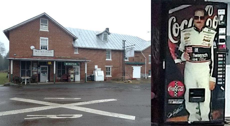 Dale Earnhardt Sr. Coke machine stolen from Culpeper store