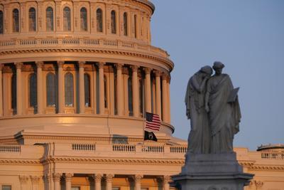 Capitol Flag Half-Staff