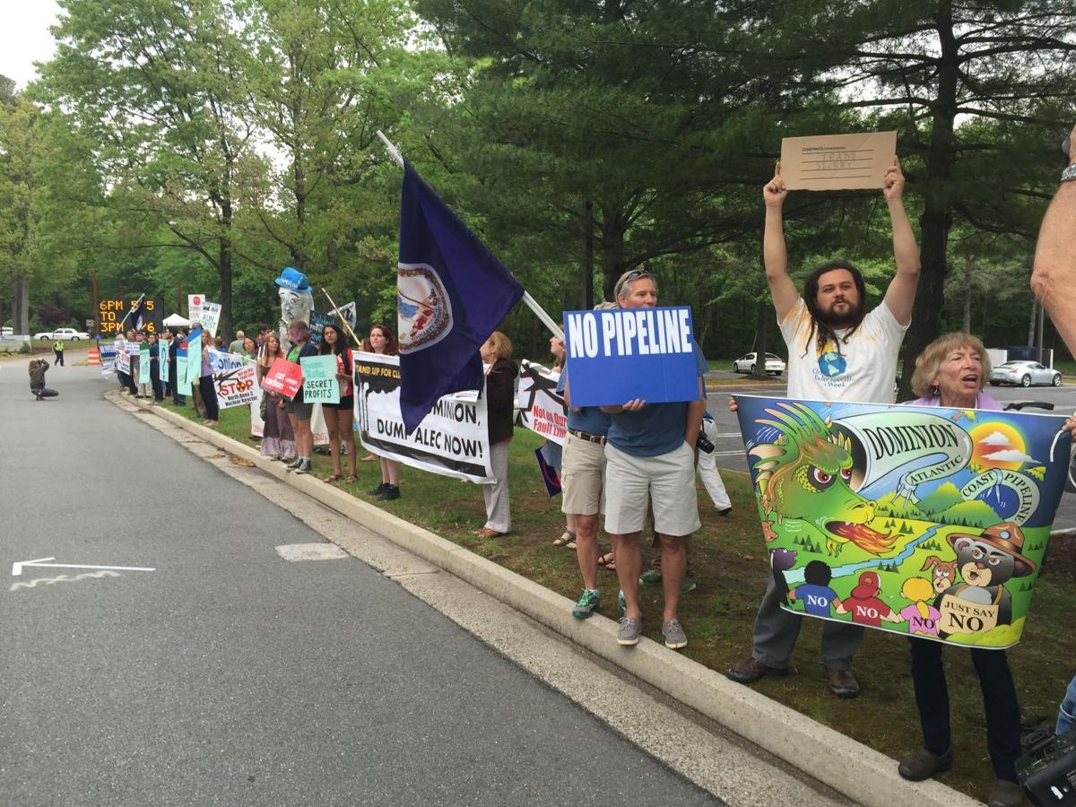 Dominion protesters