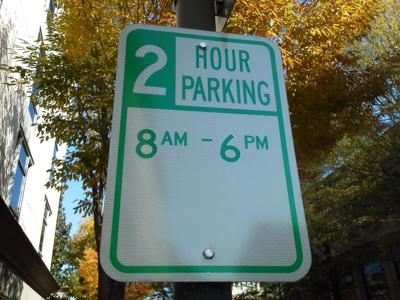 Why Richmond Explaining No Parking Signs