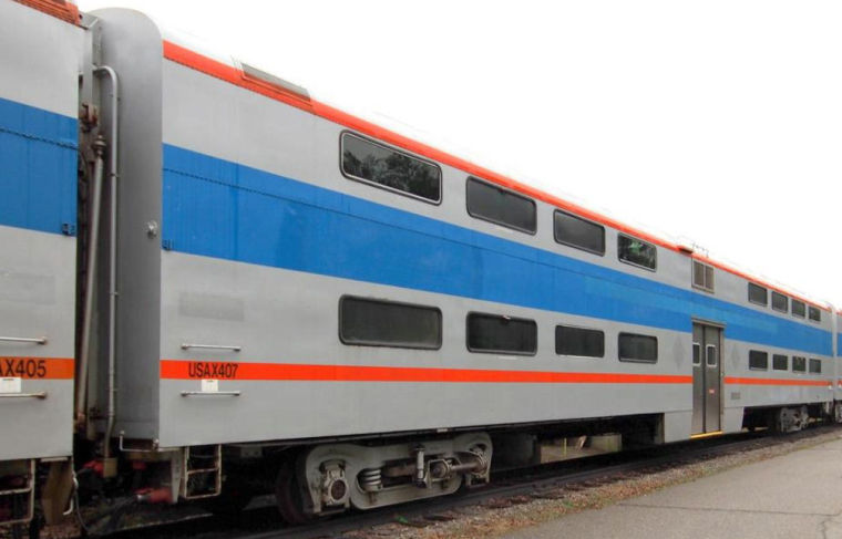 Surplus passenger rail cars at Fort Lee auctioned for about $9,000