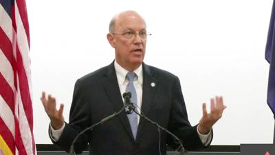 Dr. Richard V. Homan EVMS president