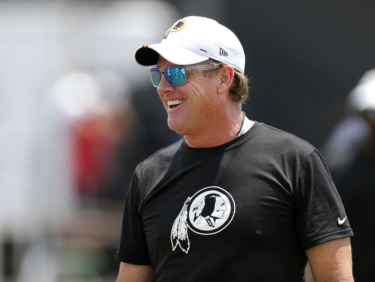Former flag football coach Jay Gruden (copy)