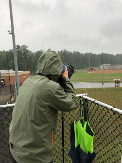 A shout out to our sports team who do what it takes to get the story and the shot
