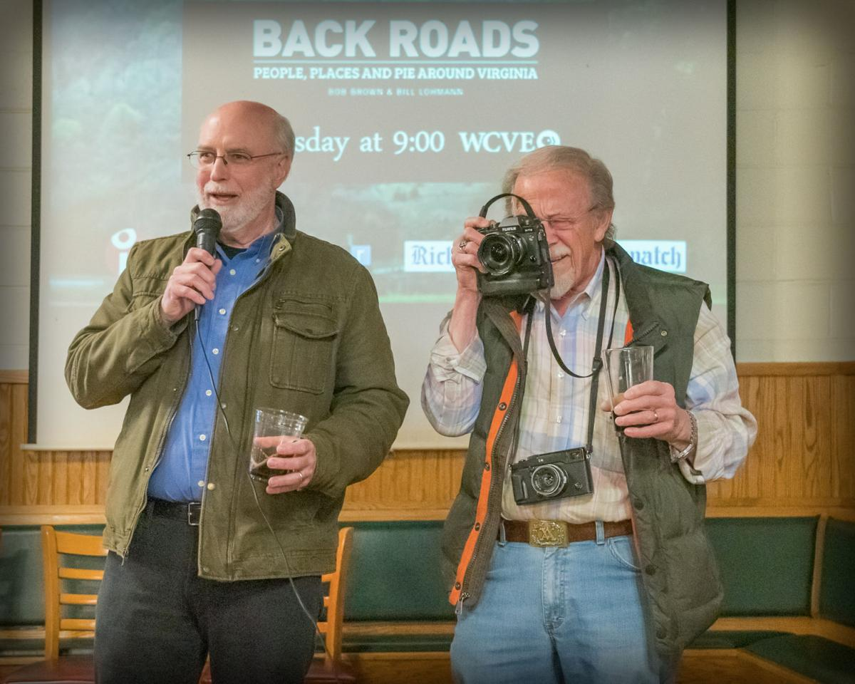 "Thank you for sharing a toast to Bill, Bob and ""Back Roads"""