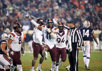 Virginia vs. Virginia Tech in football for the Commonwealth Cup