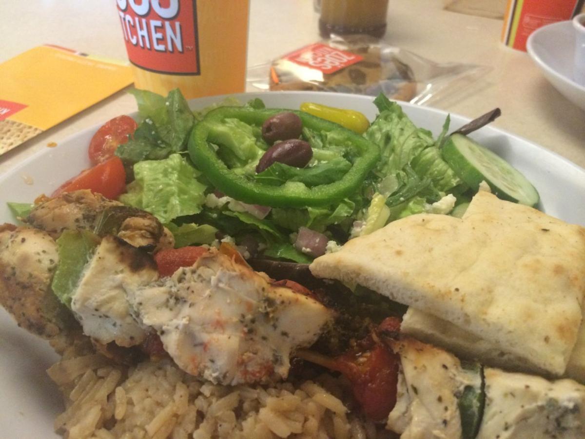 Zoes Kitchen Shrimp Kabob Cheap Eats Zoe's Kitchen  Cheap Eats  Richmond