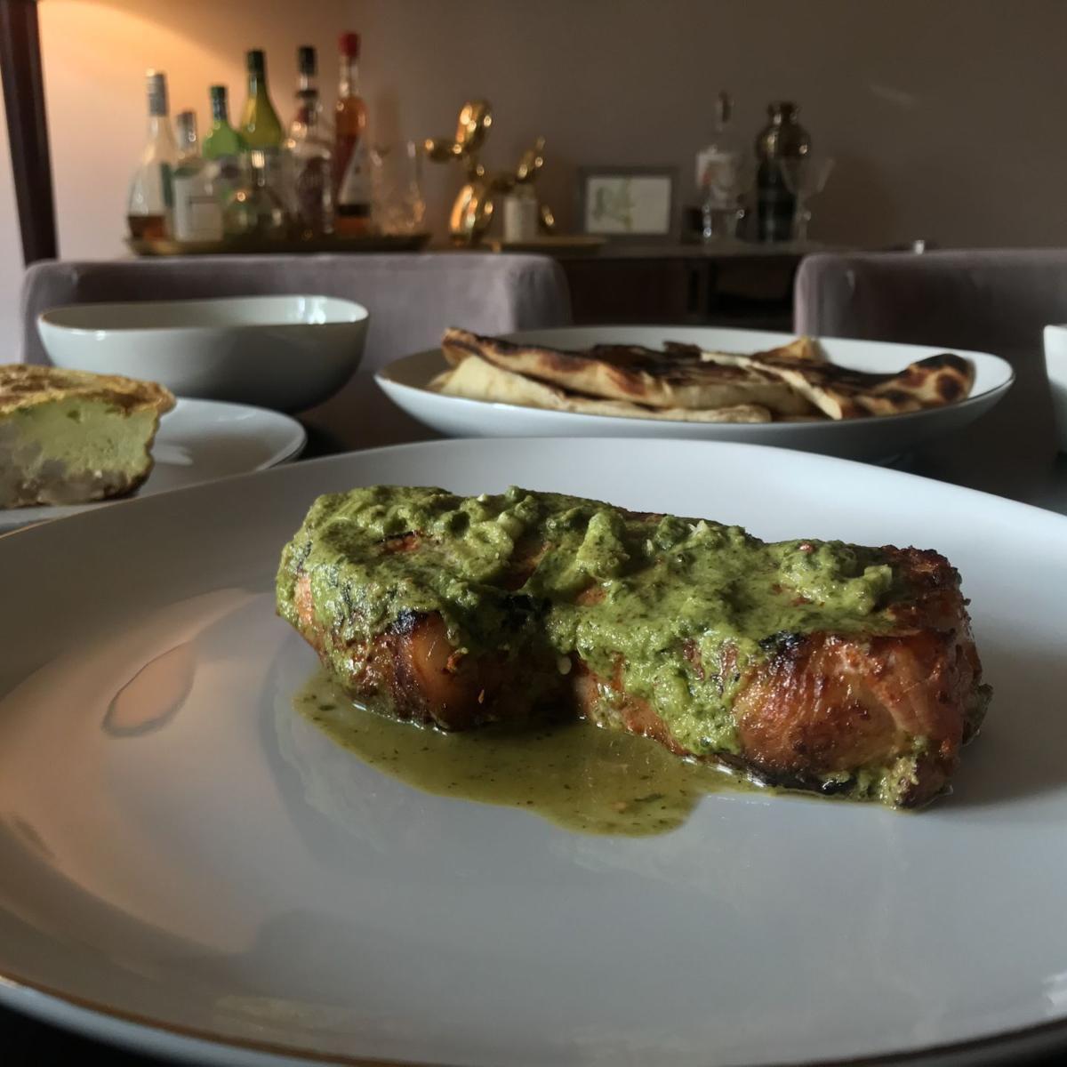Longoven - Pork chop with ramp chimichurri - Justin Lo.jpg