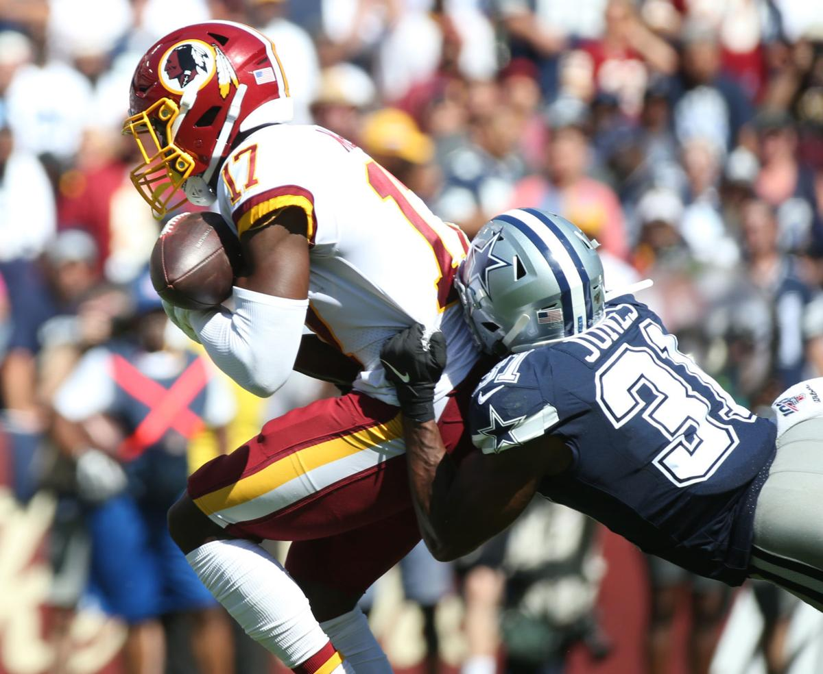 Redskins vs. Cowboys football