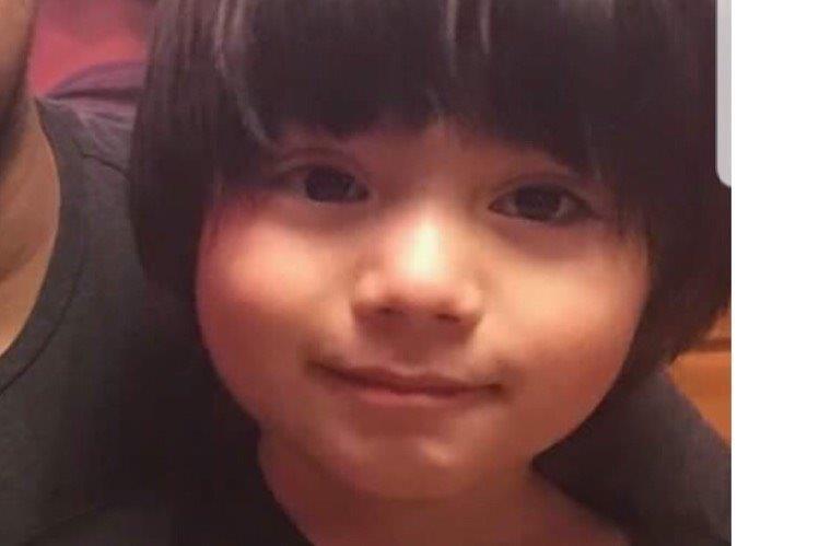Elias Camacho, 4, who was fatally injured in Belmont Road crash.