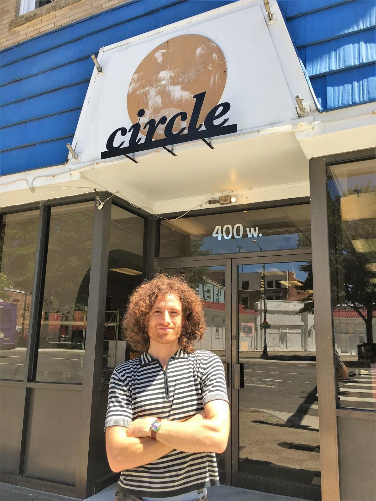 Brendan Ginsburg owns Circle Thrift & Art Space shop