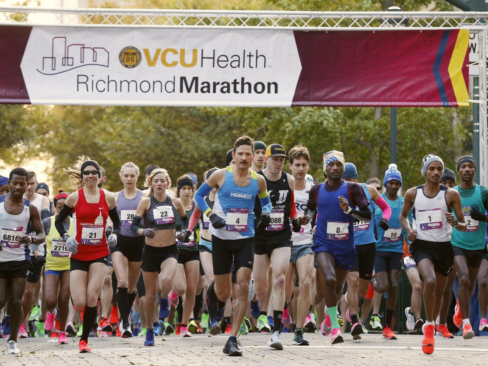 vcu health richmond marathon winners local richmond com vcu health richmond marathon winners