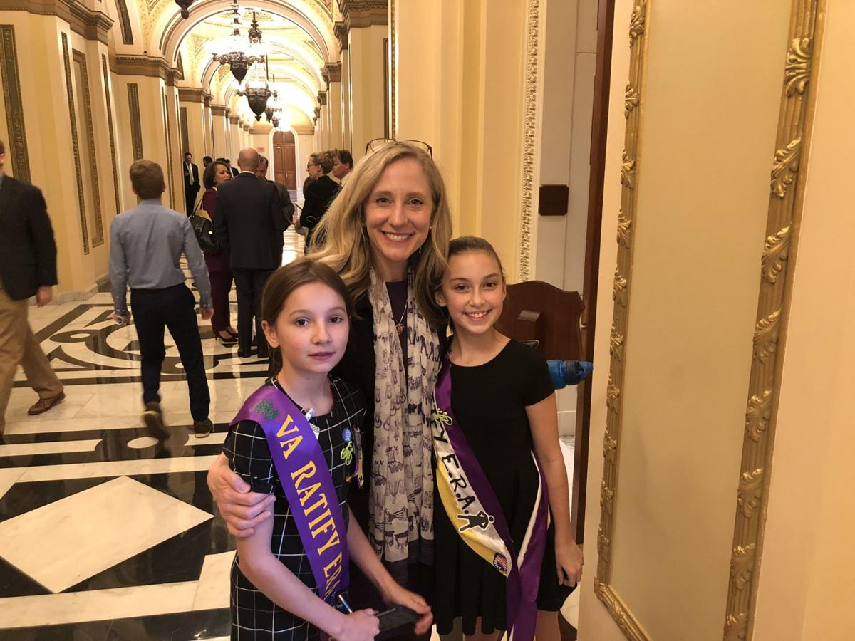 Spanberger and kids