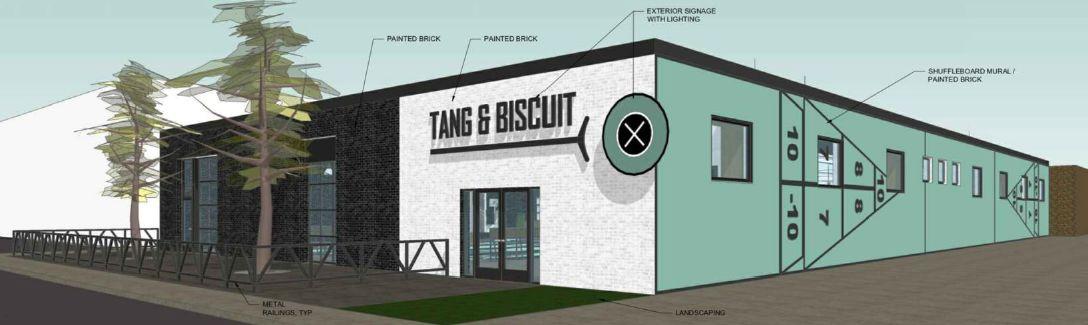 Tang & Biscuit Shuffleboard Club