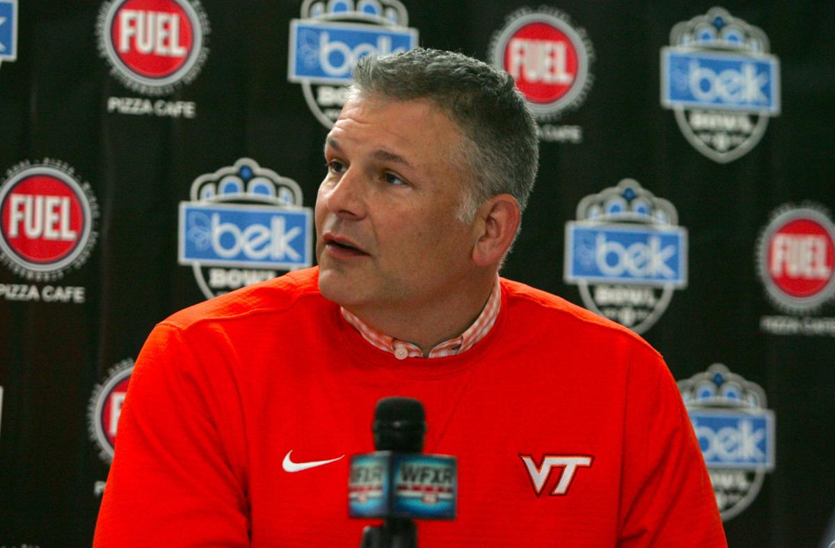 Is Va Tech Football Coach Justin Fuente Leaving He S Interviewing For Baylor S Opening Virginia Tech Richmond Com