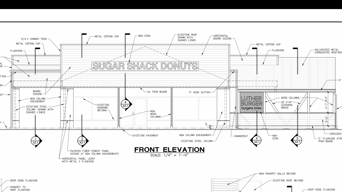 Sugar Shack Donuts Is Opening A Hanover Location And Burger Restaurant Schematic