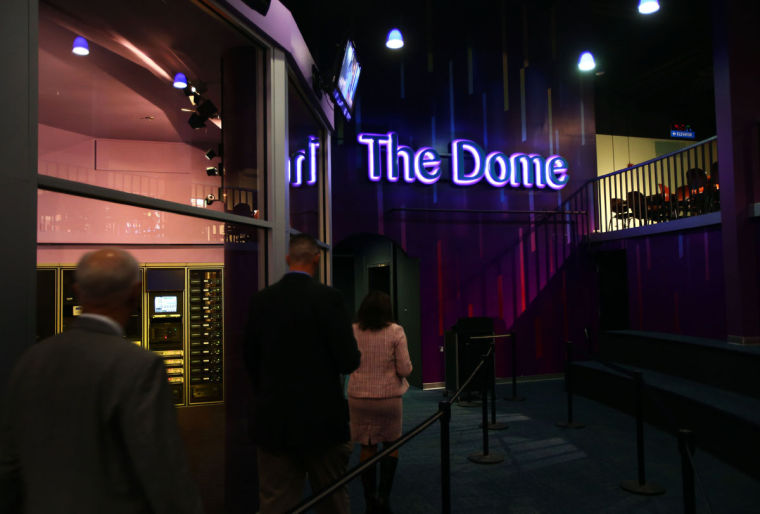 The Dome at the Science Museum of Virginia