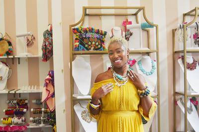 Charis Jones, owner of Sassy Jones Boutique