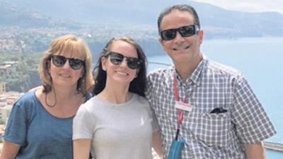 Debbie, Haley and Scott Nininger