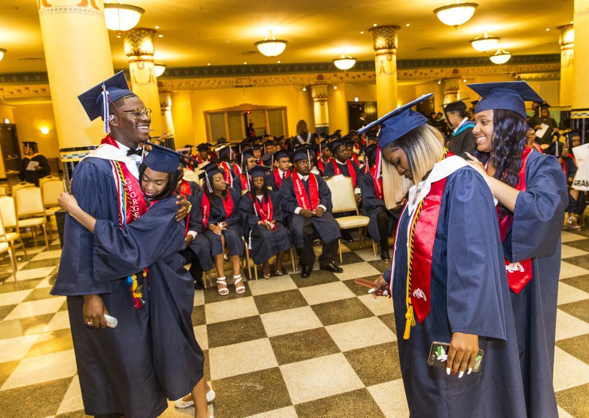 George Wythe High School graduation