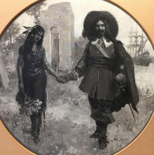 The Courtship Of John Rolfe And Pocahontas Uploaded Photos