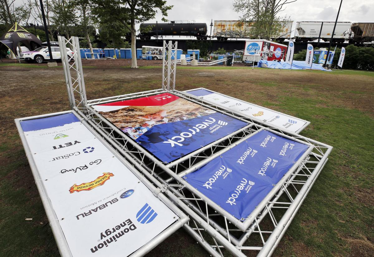 A few changes for Dominion Energy Riverrock due to rain, most events ...