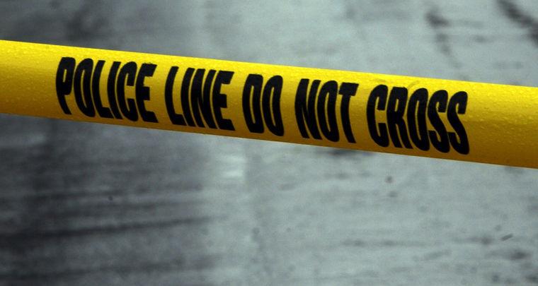 Crime-scene tape - police tape