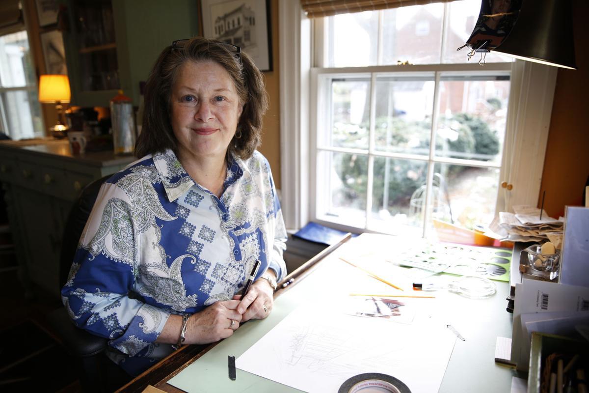 Artist Eliza B. Askin