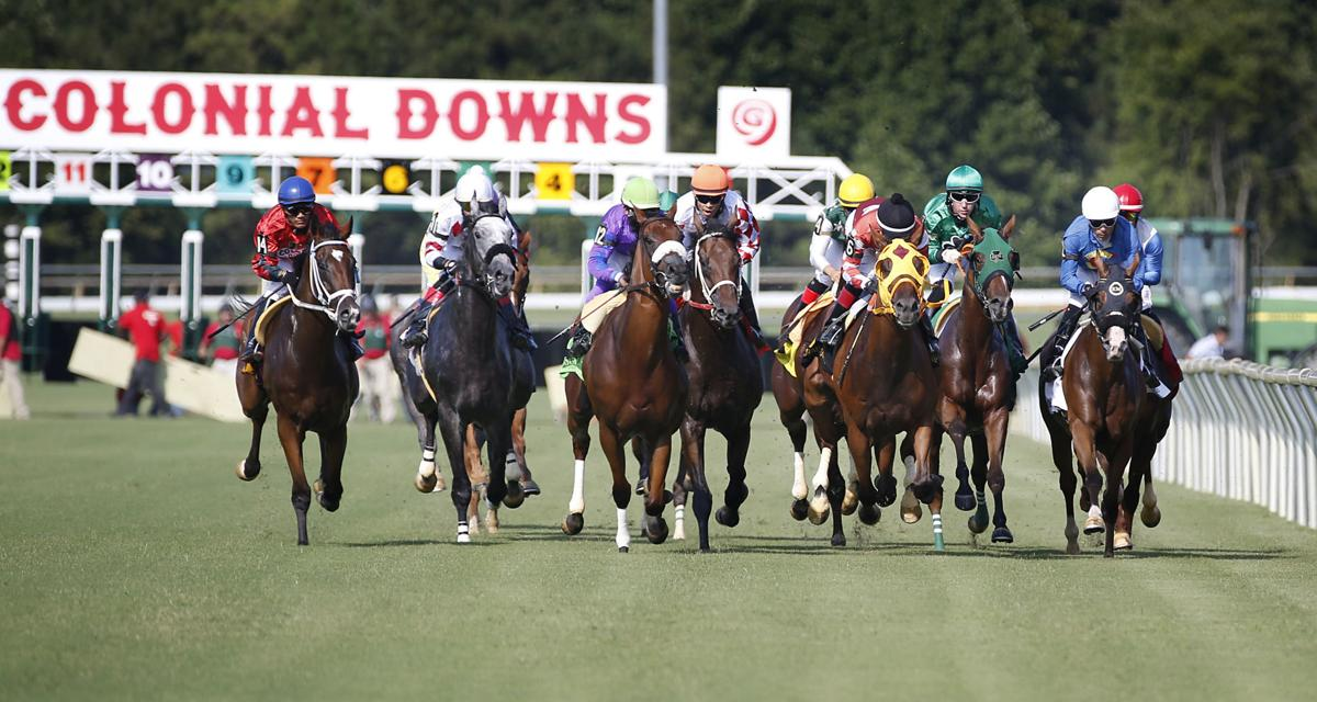 Opening day at Colonial Downs