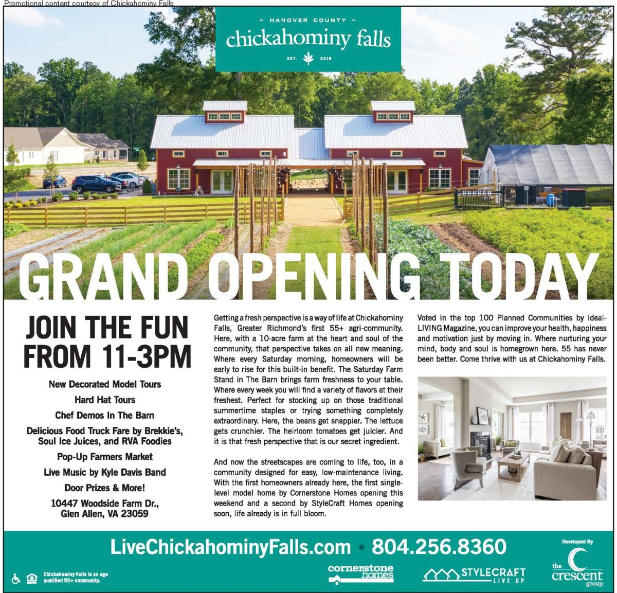 Chickahominy Falls: Grand Opening Today 02