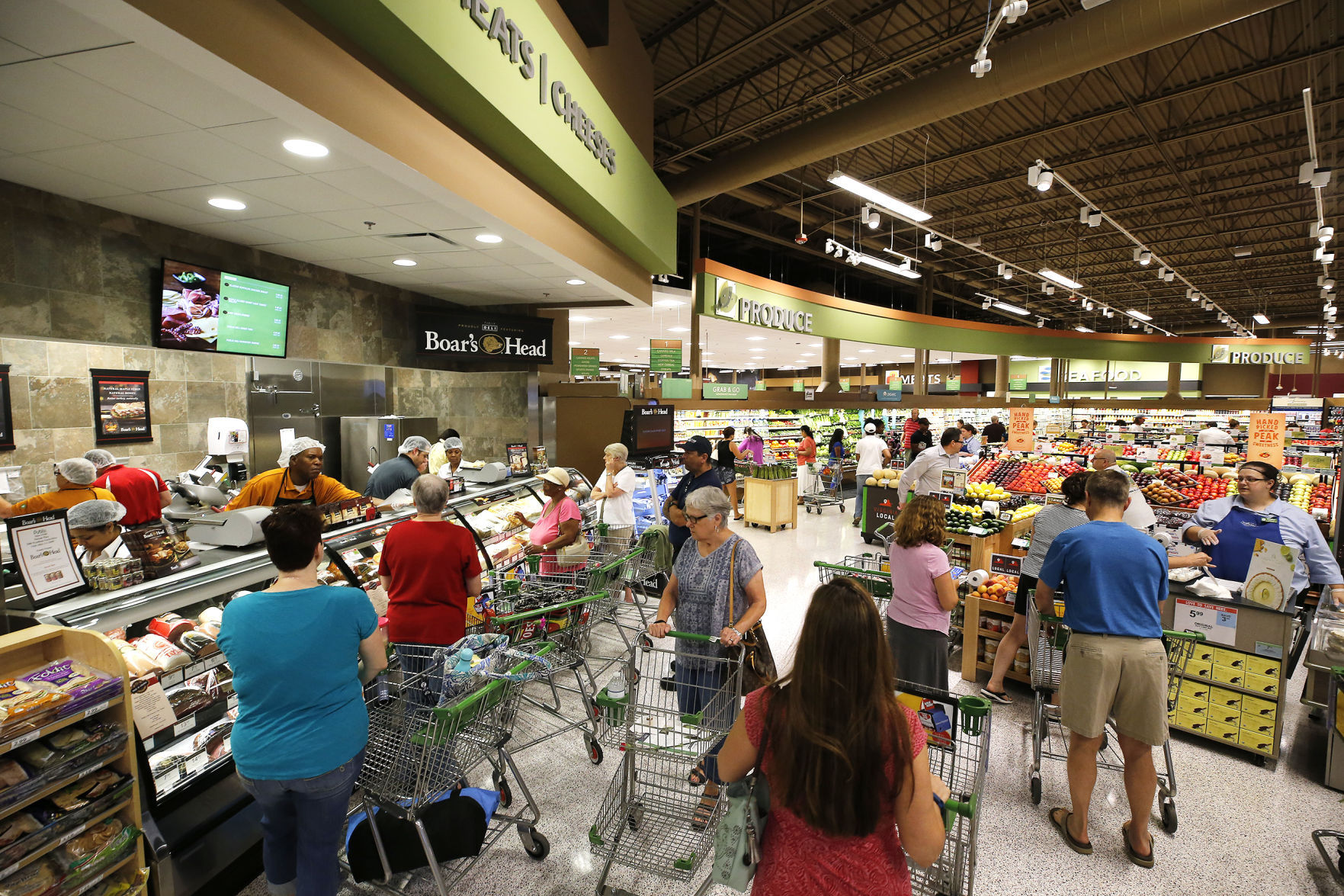 Richmond region's first Publix grocery store opened Saturday ...
