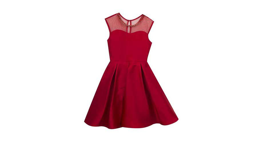 Tween holiday dress