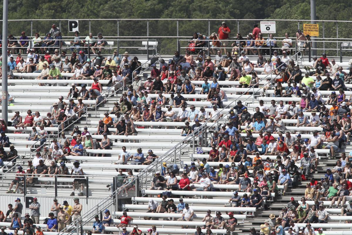 Nascar Race At Richmond That Sold 112000 Tickets A Decade
