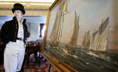 Coast Guard presents War of 1812 painting