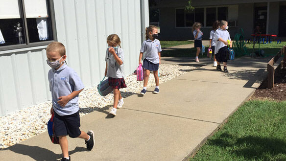 Blessed Sacrament Huguenot sees early success with full return to school