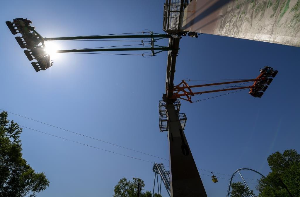 Finnegan's Flyer ride at Busch Gardens Williamsburg.