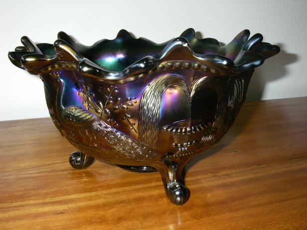 Whats It Worth Carnival Glass Bowl Porcelain Vase Entertainment
