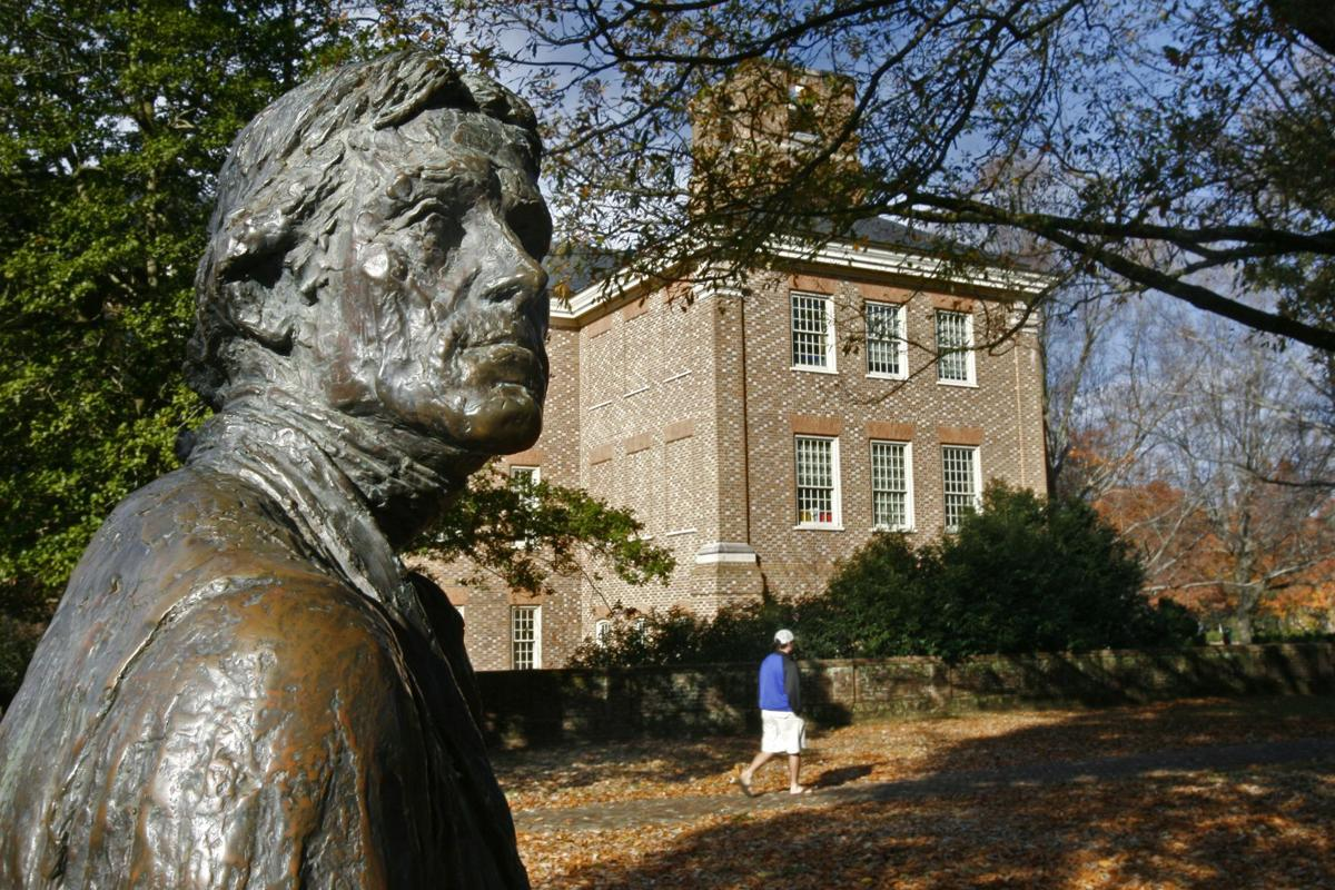 Main photo for page 5 Commentary, with STATUE
