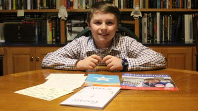 Boy turned advocate gains national attention