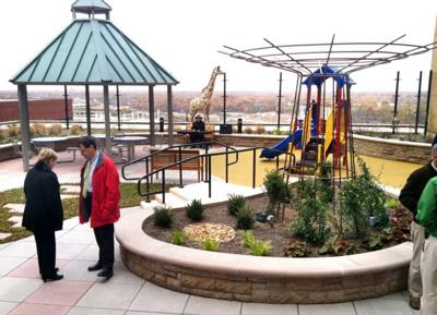 New rooftop garden for children and families on MCV campus