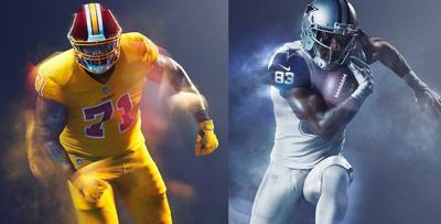 newest bb14f 3ee99 Redskins push back against wearing 'garish' uniforms ...