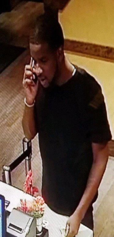 Surveillance photo of Marquise Bailey