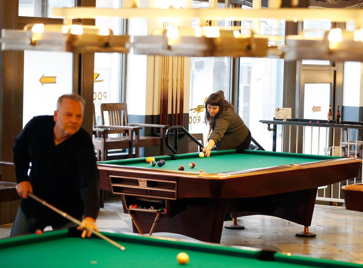 Downtown Pool Hall Nod To The Game 39 S Glorious Past City