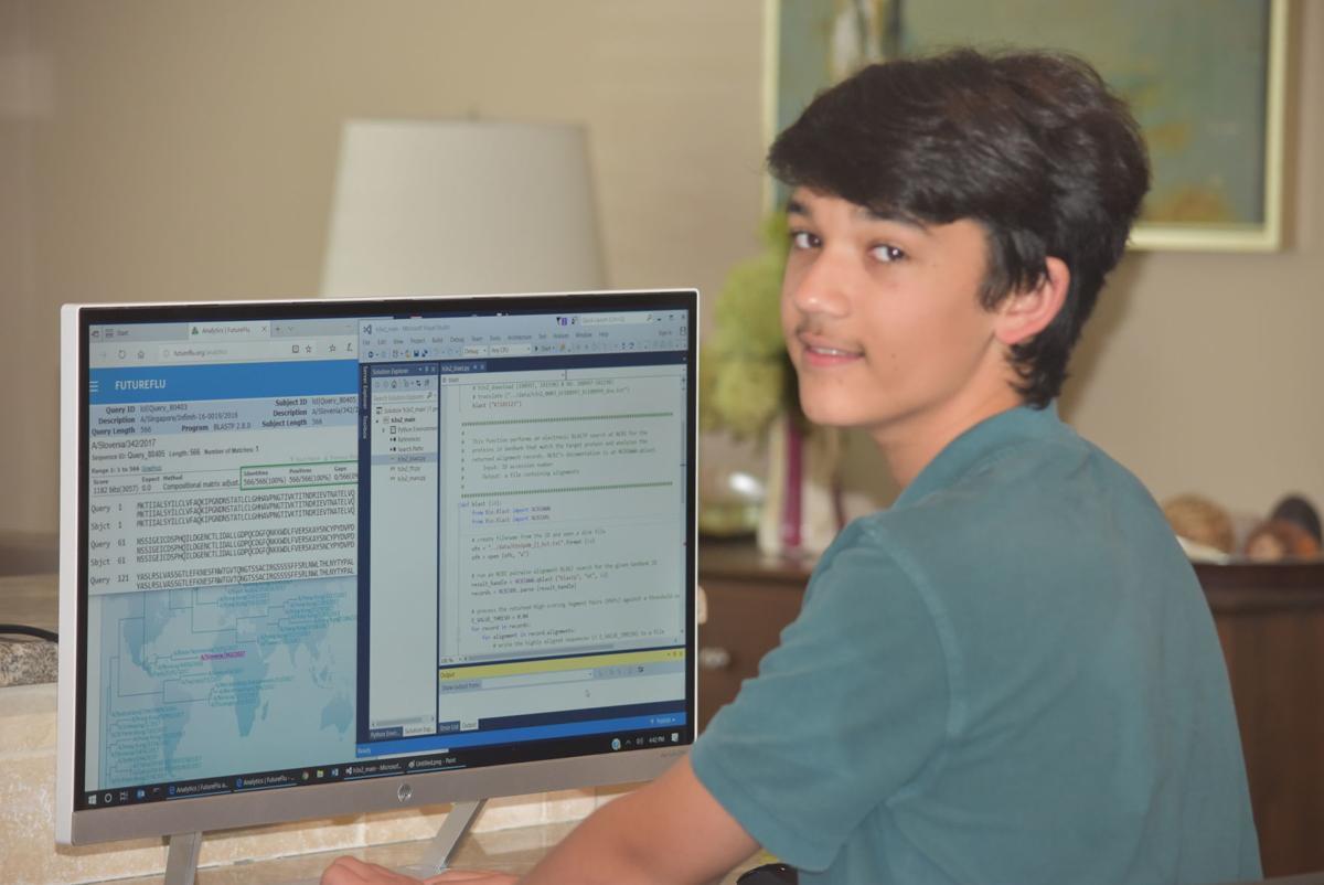 Cameron on computer