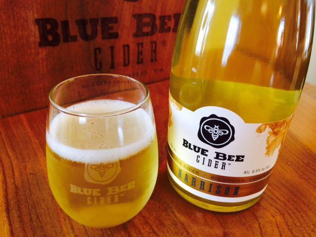 Blue Bee Harrison Cider Gls Btl (2) courtesy Blue Bee