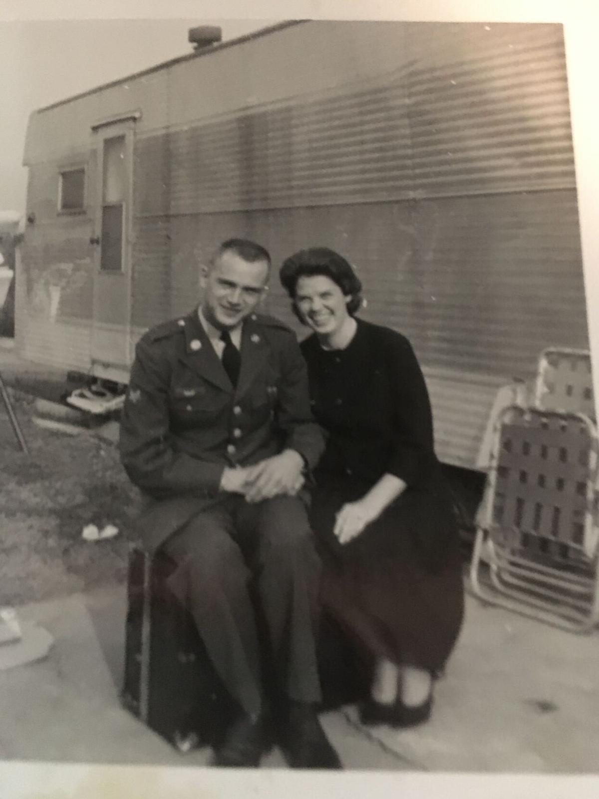 Douglas A. Haaf and June Burks Haaf 1962.JPG